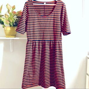 Old Navy Women's Striped Cotton Dress Size Large